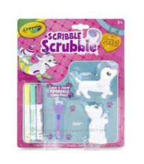 Crayola Scribble Scrubbie Pets раскрашиваемые кошка и собака от Крайола.