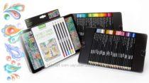 Crayola signature colored pencils. Крайола проф. серия 50 карандашей