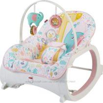 Детское кресло-качалка Fisher Price Розовый сад от рождения и до 4-х лет