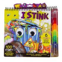 Творческий набор-раскраска для мальчика Fashion Angels I Stink Portfolio