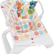 Детский шезлонг Fisher-Price Comfort Curve Bouncer от рождения до 11. 3 к