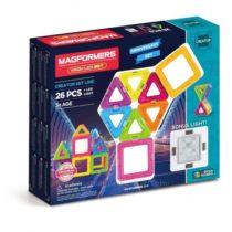 Магнитный конструктор Магформерс 27 предм Magformers Neon LED со светящ. эл