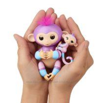WowWee Fingerlings Интерактивная ручная обезьянка с малышкой