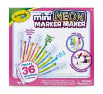 Crayola Mini Neon Marker Maker. Фабрика ароматных минимаркеров неон Крайола