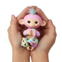 WowWee Fingerlings Интерактивная ручная обезьянка с малышкой Ashley & Chanc