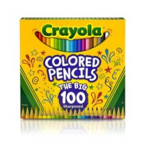 Crayola Цветные карандаши 100 цветов Different Colored Pencils 100 Count