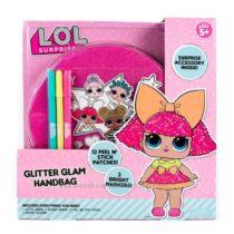 Сумочка ЛОЛ с раскрашиваемыми наклейками L. O. L. Surprise Glitter Glam Ba