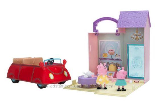 Набор Свинки Пеппы с пекарней, машинкой Peppa Pig&acutes Bakery Trip Combo Pack