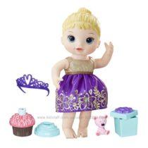 Cupcake Birthday Кукла Baby Alive блондинка День рождения