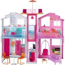 Роскошный дом Барби с лифтом Barbie Pink Passport 3 Story Townhouse