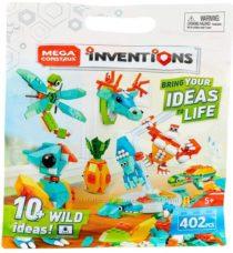 Совместимый с Лего конструктор Mega Construx Inventions Wild Pack 402 дет