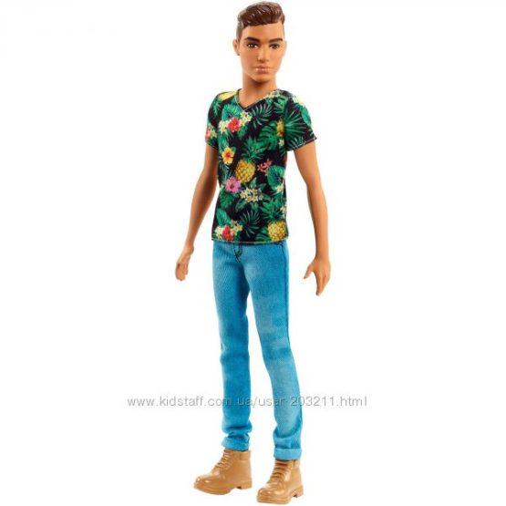 Кукла Барби Кен тропик Модник 15 Barbie Ken Fashionistas Doll 15 Tropical