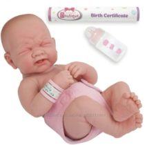 Пупс испанской фирмы JC Toys La Newborn First Tear анатомически корректный