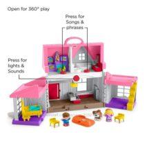 Музыкальный дом Фишер Прайс Fisher-Price Little People Big Helpers Home