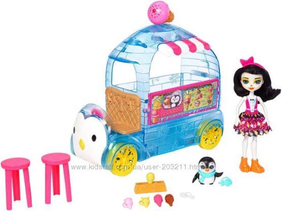 Энчантималс Фургончик мороженого Enchantimals Preena Penguin Ice Cream