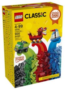 Конструктор Лего 900 дет Lego Classic Creative Box 10704