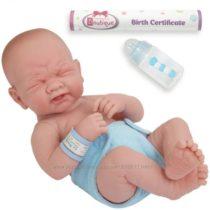 Пупс испанской фирмы JC Toys La Newborn First Tear анатомически коррект.