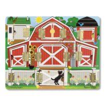 Magnetic Farm Hide & Seek Доска с окошками Ферма MD14592 Melissa & Doug