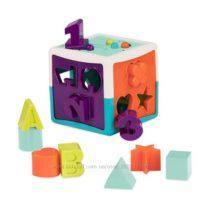 Развивающая игрушка-сортер – Умный куб 12 форм Battat