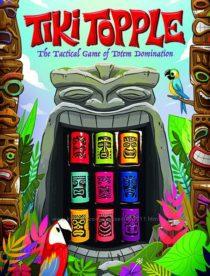 Красочная тактическая настольная игра Gamewright Tiki Topple