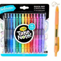 Смывающиеся гелевые ручки 14 шт. Крайола Crayola