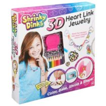 Набор для создания объемных украшений Shrinky Dinks 3D Heart Link Alex