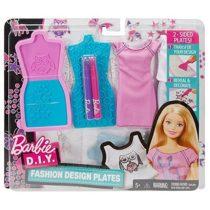 Дизайнер одежды Барби Barbie D. I. Y. Fashion Design Plates 1