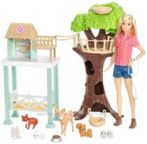 Центр Спасения Животных Барби Barbie Animal Rescuer Doll Playset