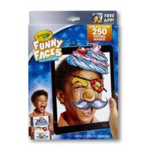 Интерактивная раскраска Крайола Смешные Лица Crayola Funny Faces 2.