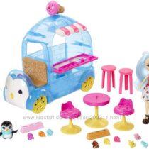 Enchantimals Фургон с мороженным Прина Пингвина, Полярный медведь. Оригинал