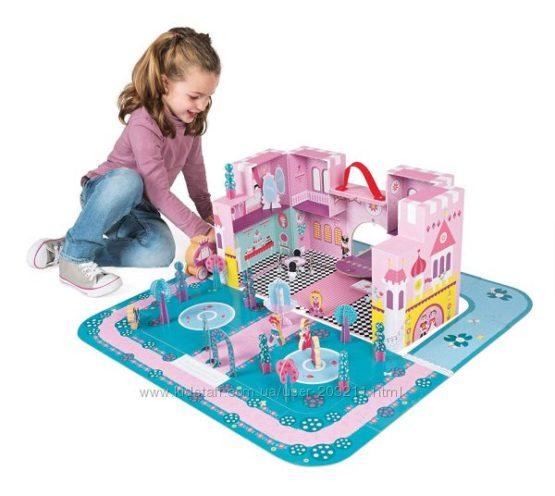 Игровой набор Janod Замок принцессы 44 детали
