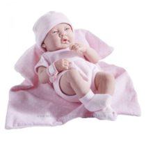 Пупс испанской фирмы JC Toys Berenguer Boutique La Newborn анатом. кор. роз