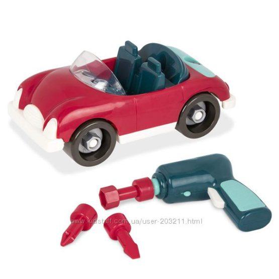 Игрушка-конструктор Разборная машина Battat Take-Apart Roadster Car