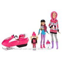 Набор кукол Барби и сёстры Зимнее веселье Barbie Sisters Snow Fun Doll Gift