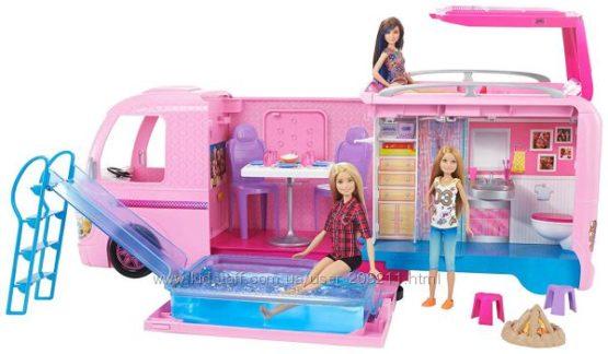 Набор Барби Кемпер мечты Трейлер для путешествий Barbie Dream Camper.