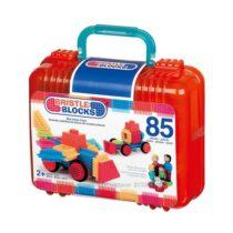 Конструктор-бристл 85 деталей в удобном чемоданчике. Battat Bristle