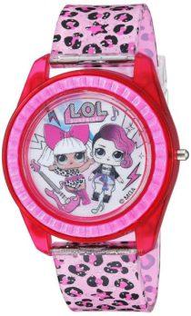 Красивые часы с интересной подсветкой ЛОЛ L. O. L Surprise