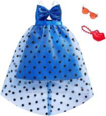 Красивое платье для Барби с аксессуарами Barbie Complete Looks Bow Party
