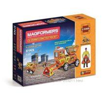 Магнитный конструктор Magformers Крейсеры XL, Строители, 37 эл