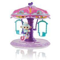 Большая карусель с обезьянкой WowWee Fingerlings Twirl-A-Whirl Carousel