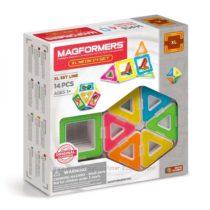 Магнитный конструктор Магформерс Неон 14 деталей Magformers XL Neon