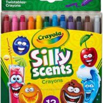 Crayola Silly Scents Twistables Crayons Выкручивающиеся Крайола карандаши