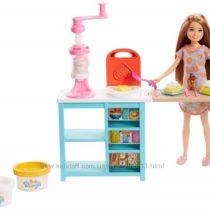 Барби и ее сестры Завтрак Стейси Barbie Sisters Stacie Doll and Breakfast