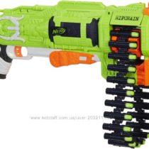 Нерф Зомби Страйк Рипчейн Комбат Nerf Zombie Ripchain Combat Blaster
