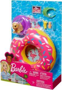 Набор для Барби для отдыха на пляже Barbie Donut Floaty