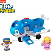 Самолет Fisher-Price Little People Travel Together Airplane