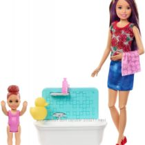 Кукла Барби няня Barbie Skipper Babysitters Inc. Bathtime Playset