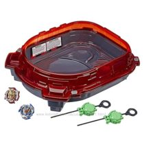 Beyblade Burst Turbo Slingshock Rail Rush Battle Set 2 волчка и арена
