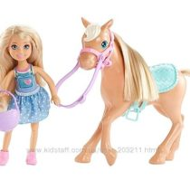 Набор Барби Клуб Челси и лошадка Barbie Club Chelsea Doll & Horse