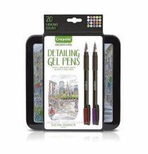 Гелевые ручки Крайола Crayola Signature Detailing Gel Pens